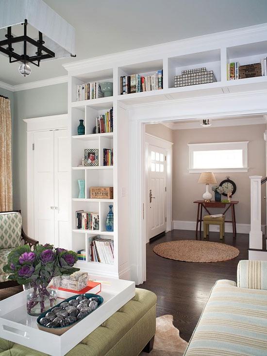 Trove Interiors Builders Bookshelves