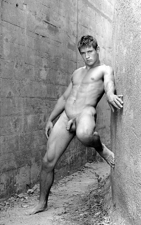 Male nude photos outside and