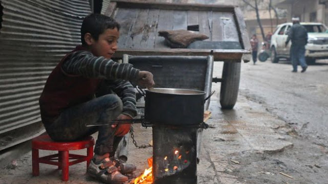 Kisah Memilukan Anak-Anak Aleppo yang Harus Bertahan Hidup di Tengah Peperangan