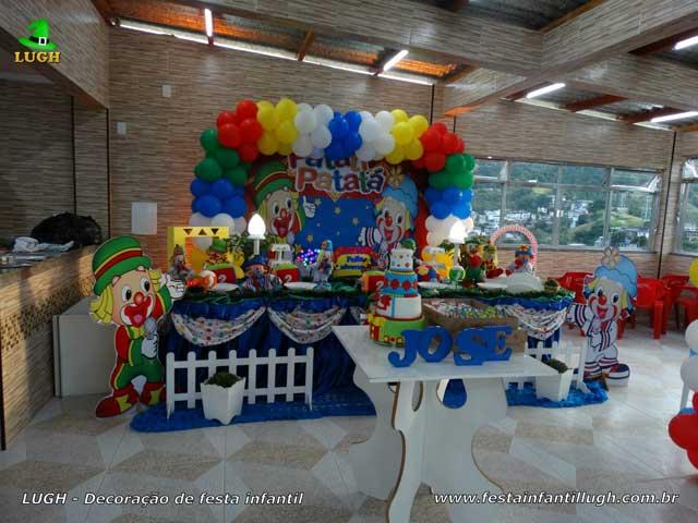 Decoração de aniversário Patati Patata - Mesa luxo - Festa infantil