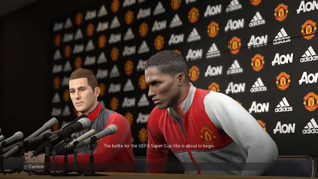 Manchester United Press Conference Room PES 2018