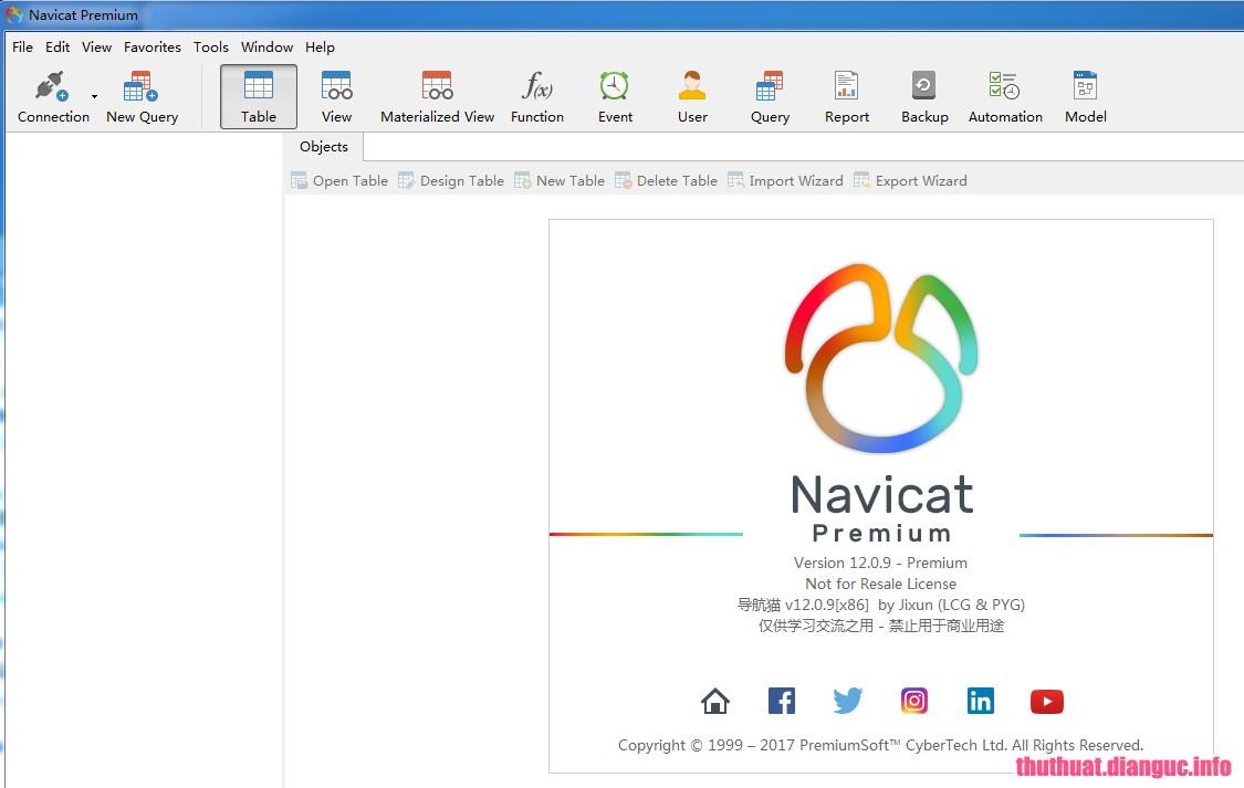 Download Navicat Premium 12.1.18 Full Crack, công cụ quản trị cơ sở dữ liệu đa kết nối nâng cao, Navicat Premium, Navicat Premium free download, Navicat Premium full key