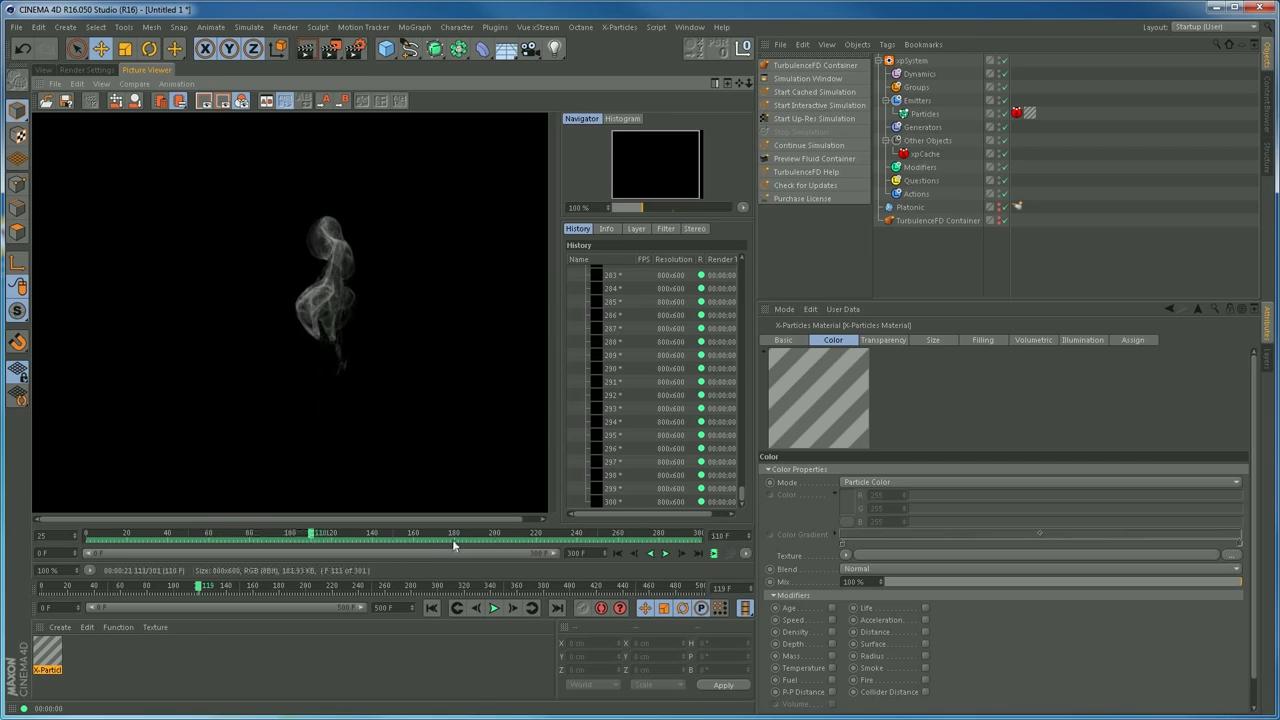 Creating wispy smoke with Turbulence FD in Cinema 4D | CG TUTORIAL