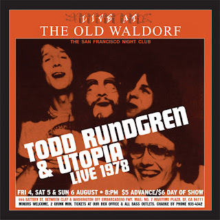 Todd Rundgren's Utopia Live at the Old Waldorf