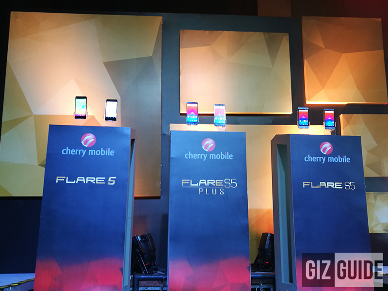 Cherry Mobile Flare 5, Flare S5, And Flare S5 Plus Announced, A Trio Of 700 MHz LTE Ready Phones!