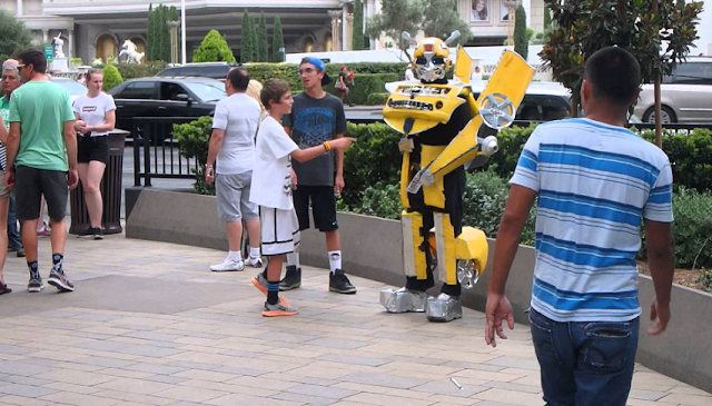 Transformers na Strip em Las Vegas