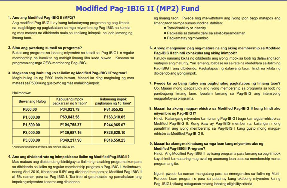 Modified Pag-ibig II MP2 fund, MP2, passive investment, conservative investment, low risk investment, investment, pag-ibig, investing, financial independence, asset allocation, wealth allocation, balance portfolio, retirement fund, Philippines