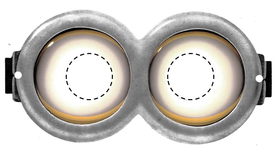 photograph about Free Printable Minion Eyes named Minion Goggle Template. minion goggles template minion