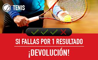 sportium Tenis: Combinada 'con seguro' 9-15 abril