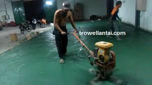 Jasa Trowel Cor Beton Spesialis Finish Trowel Lantai Beton