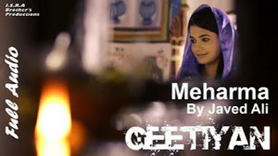 Meharma Lyrics - Javed Ali | Habib Kavishi | Latest Hindi Songs 2017