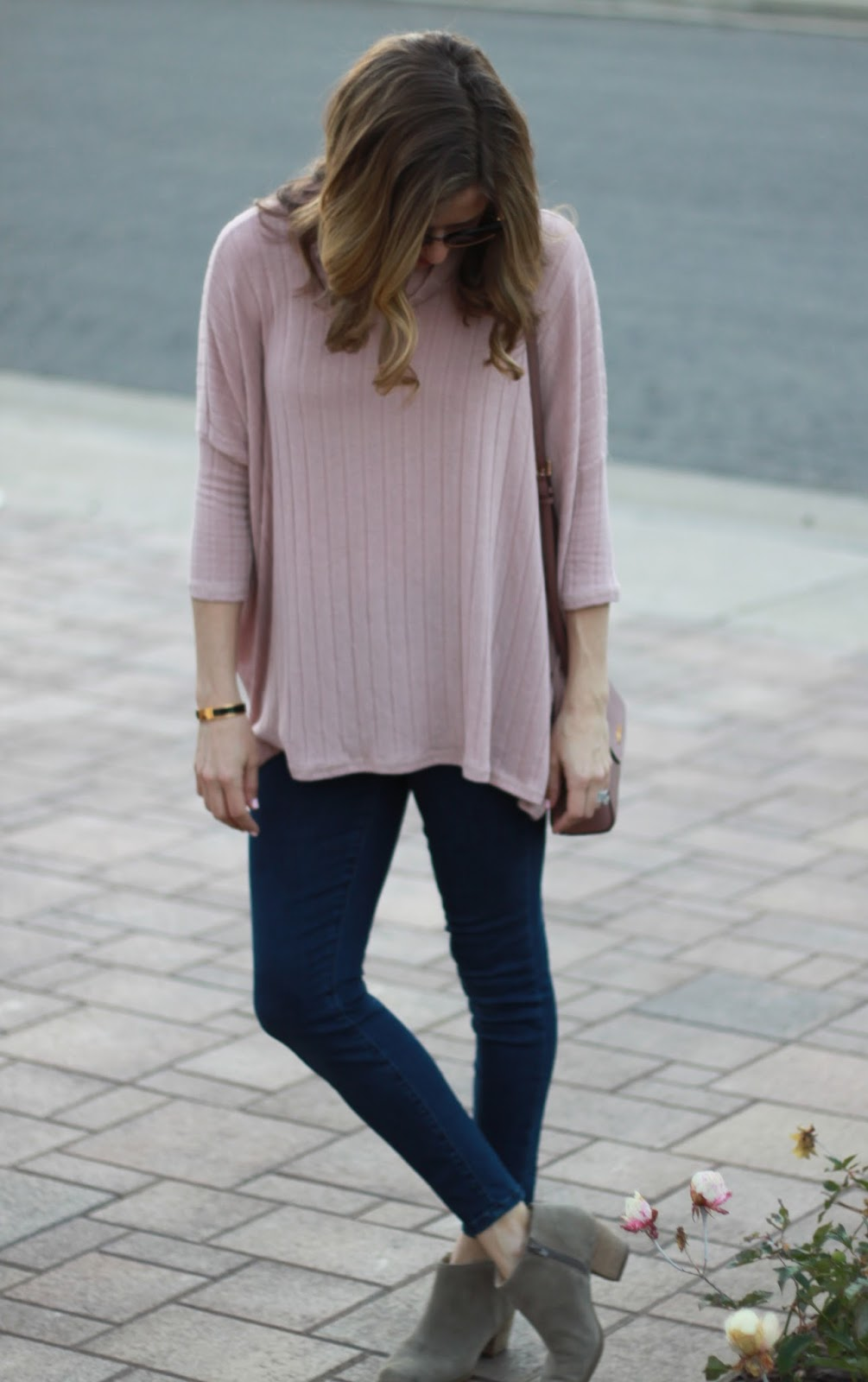 tunic and booties outfit