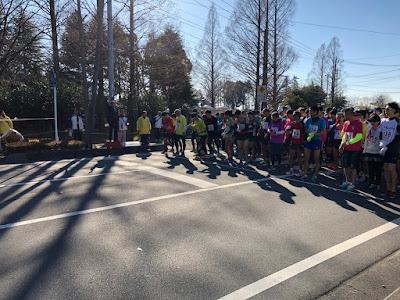 越谷市制60周年記念第53回越谷市元旦マラソン大会