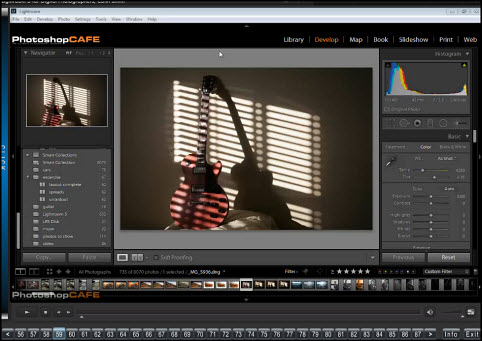 Lightroom 5 for Digital Photographers course by Colin Smith