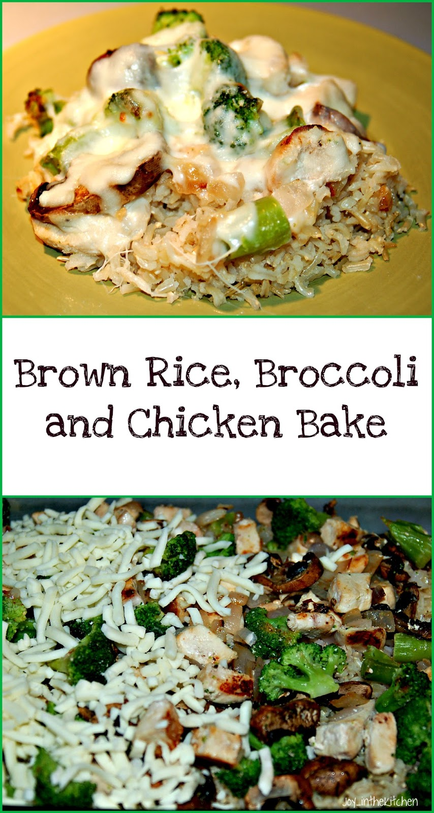 Brown Rice Chicken And Broccoli