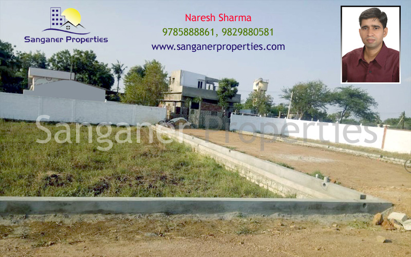 JDA Approved Residential Land in Haldighati Road, Sanganer