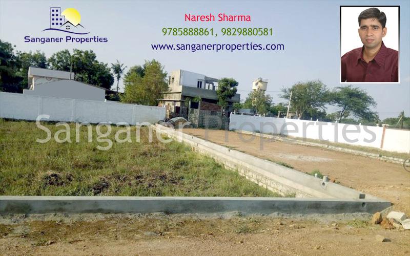 JDA Approved Residential Land in Haldighati Road, Sanganer