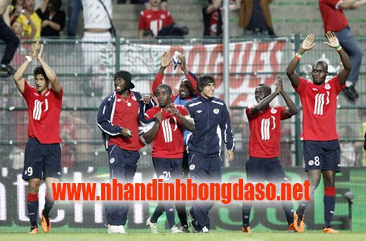 Strasbourg vs Lille www.nhandinhbongdaso.net