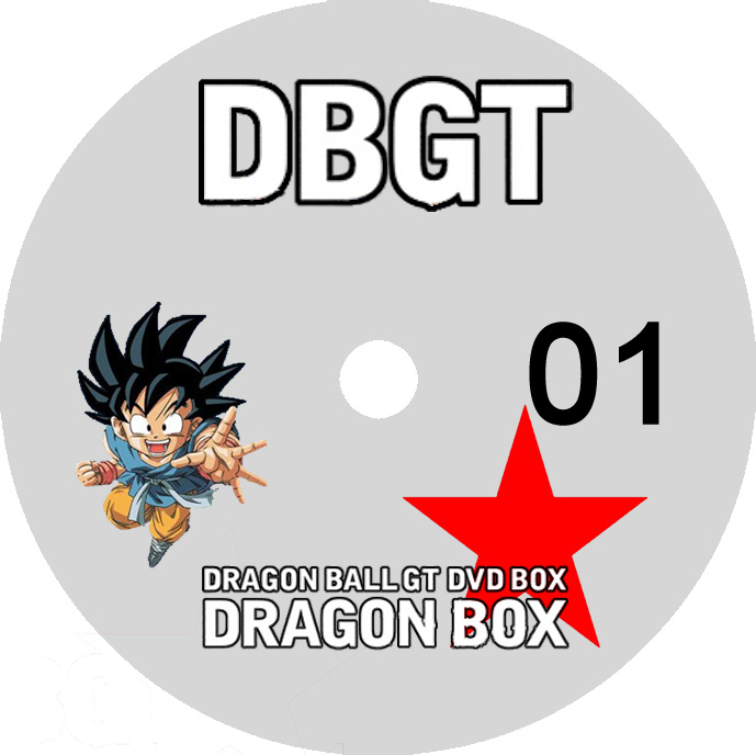Label DVD Dragon Ball GT D1 A D4