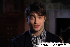 Special Empire Big Screen event message from Daniel Radcliffe