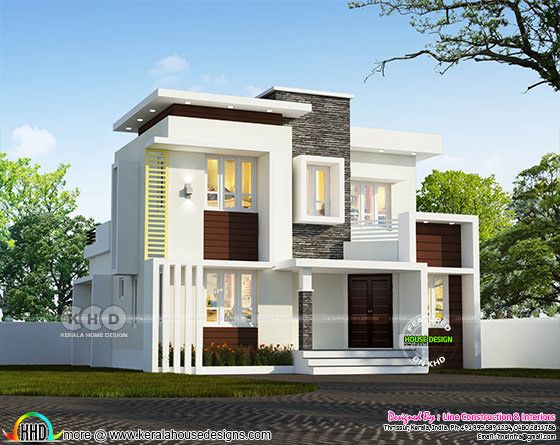 1255 square feet small contemporary house