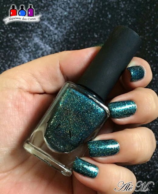ILNP, Time in a Bottle, Glitter, Teal, Cosmay, Peel Off, Periperia, Cool 033, Aliexpress, Jelly Stamper, Alê M