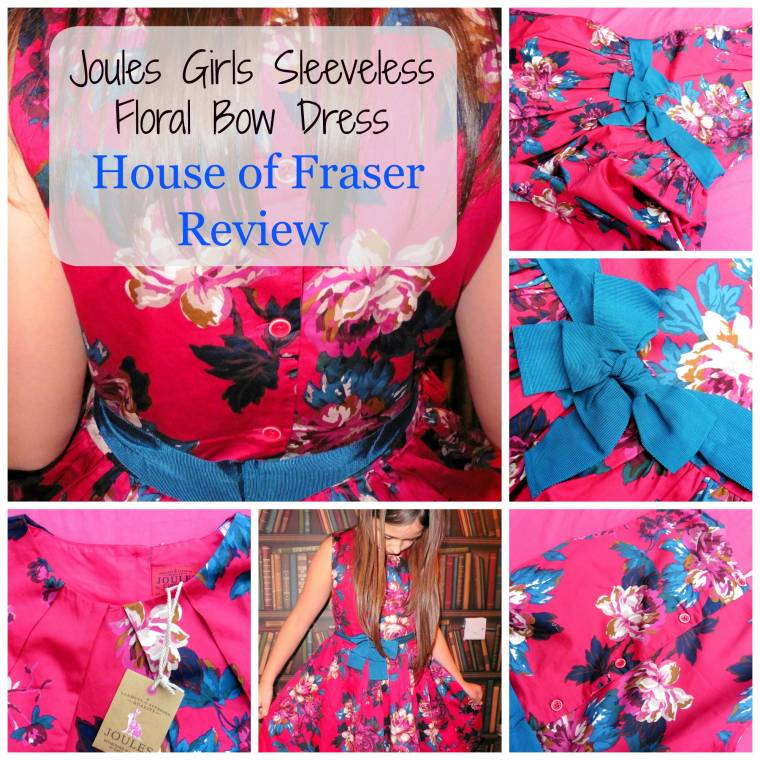 House Of Fraser Girls Dress Review: How Pretty Is This?