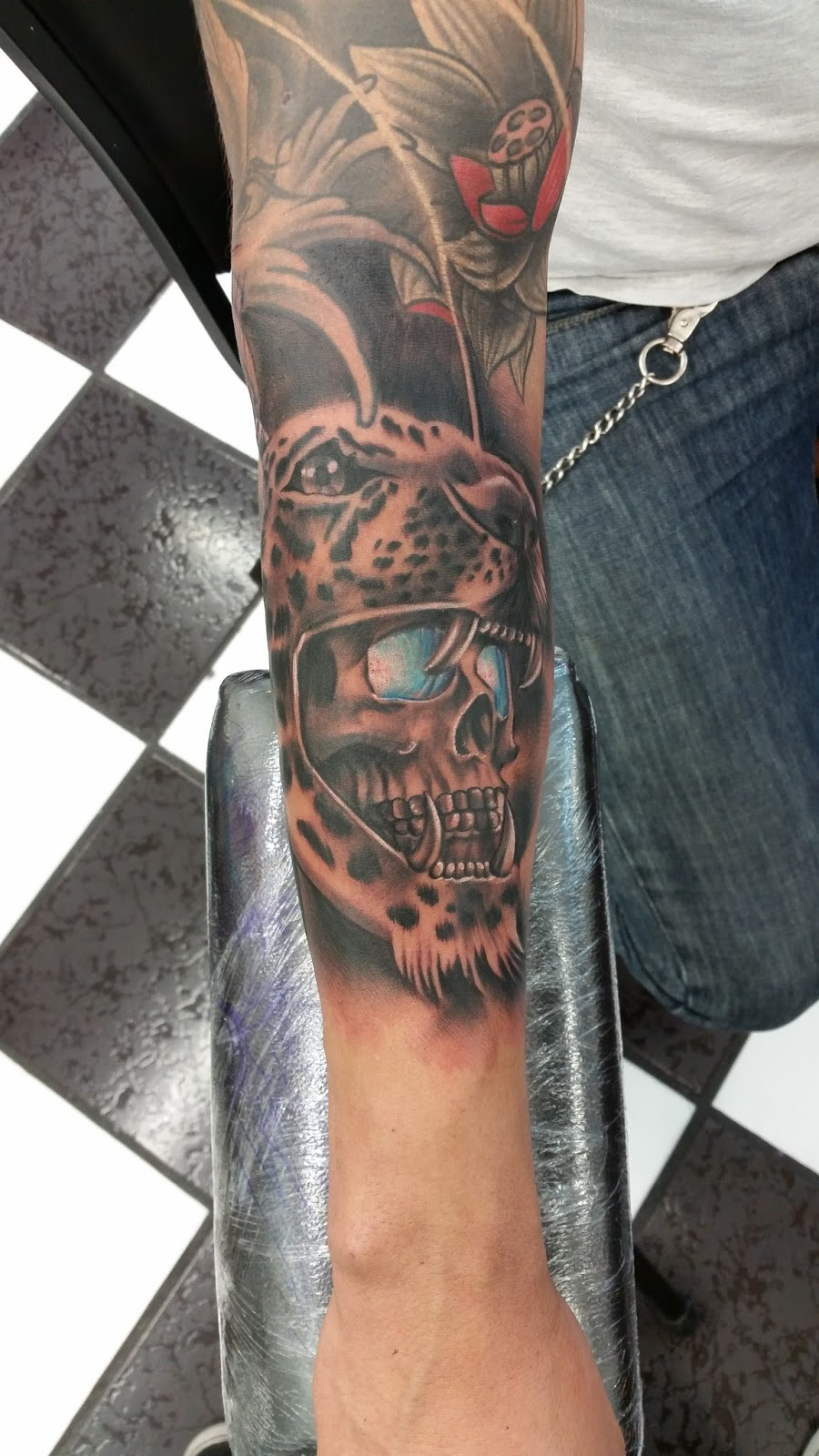 Shen Jones Jaguar Tattoo Por Shen Jones