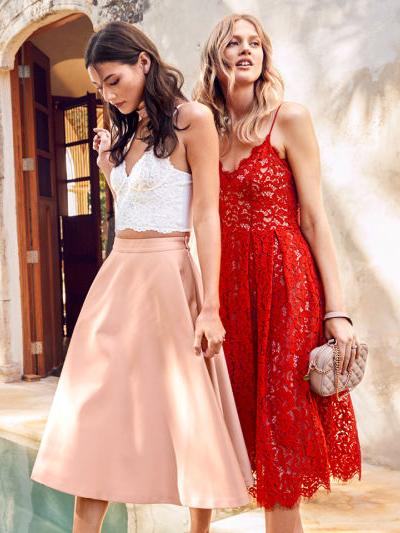 vestidos de fiesta H&M para verano