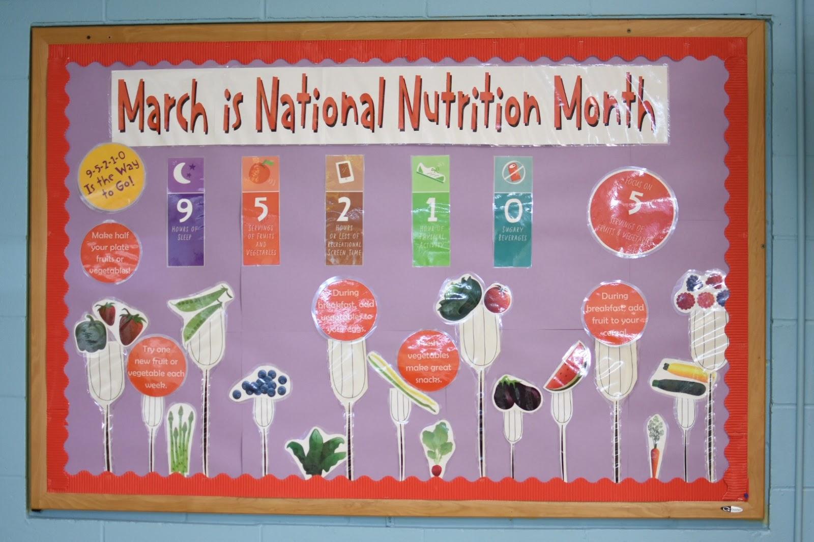 Classroom Bulletin Board Ideas Nutrition Month ~ Somerville farm to school project