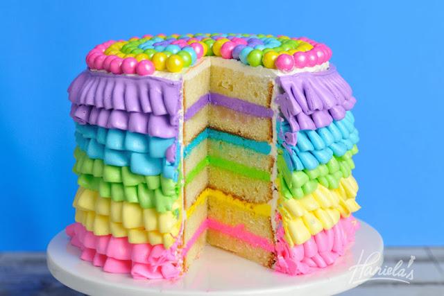 Royal Icing Ruffle Cake