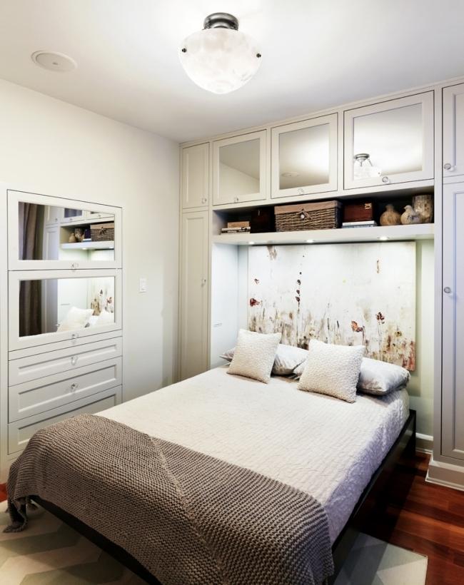 Habitaciones con estilo c mo decorar un dormitorio peque o - Como amueblar un dormitorio pequeno ...