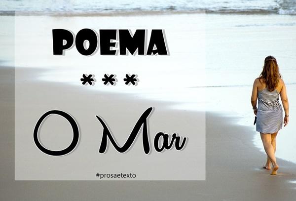 Poema- O Mar
