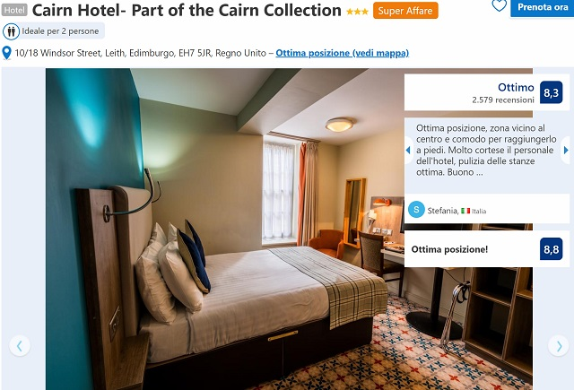 Bagno Con Doccia Al Centro : Offerte edimburgo maggio e giugno: 5 giorni in eccellente hotel più