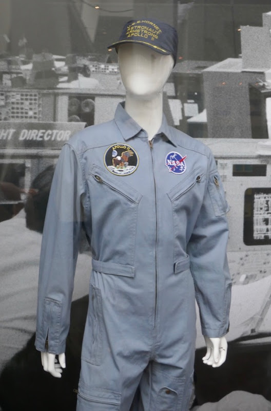 First Man Neil Armstrong NASA quarantine suit