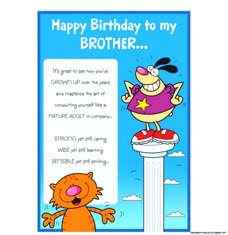 Happy Birthday Wishes For Brother In Law Funny