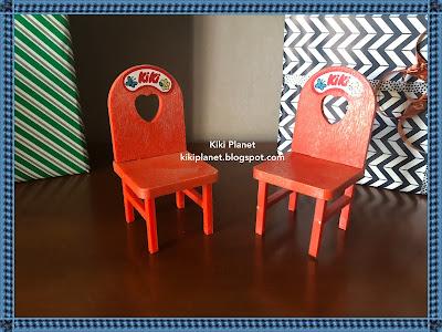 kiki monchhichi chaise mobilier vintage