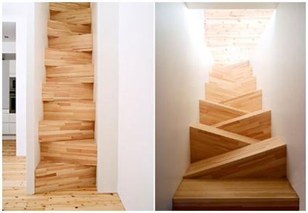 gabriella gustafson y mattias sthlbom de taf han diseado esta singular escalera para una residencia privada en estocolmo suecia