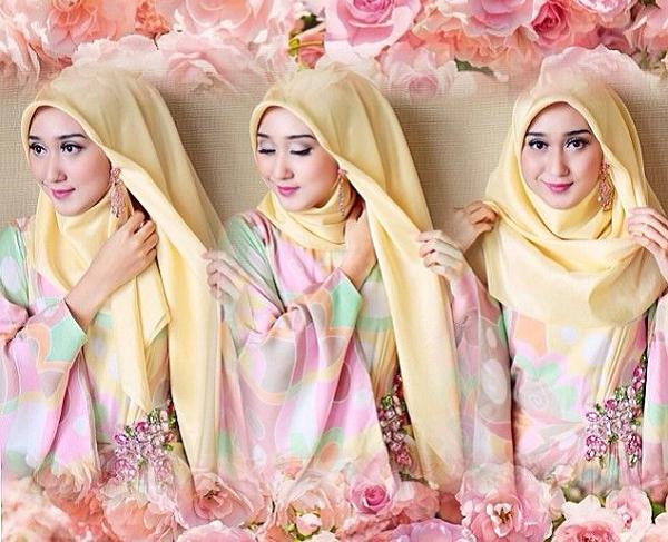 Tutorial Hijab Segi Empat Untuk Lamaran