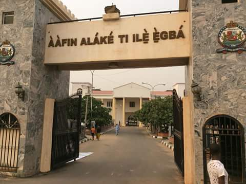 Image result for palace of the alake of egbaland