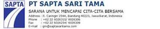 Lowongan Kerja Staff Akunting PT.Sapta Sari Tama Bandung