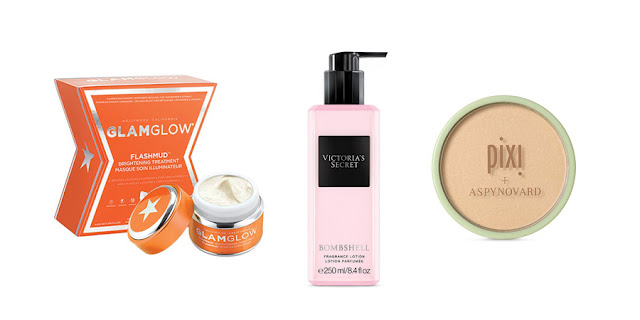 Glamglow SuperMud Cleanser, Victoria's Secret Bombshell Perfume, Pixi Aspyn Ovard Highlight, Beauty Blogger, College Blogger, Lifestyle Blogger