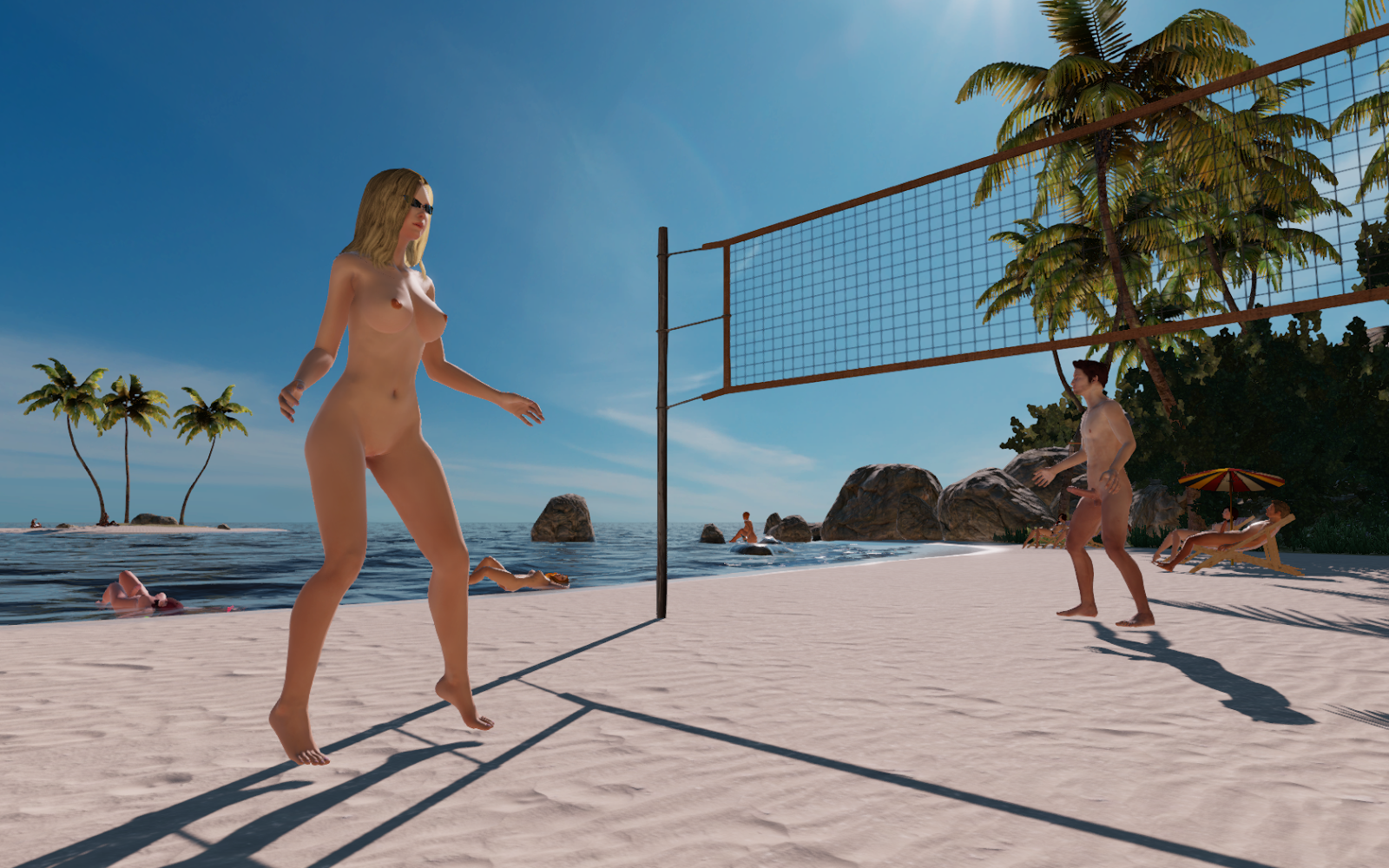 Dead Or Alive Beach Volleyball Nude Code