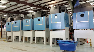 6 brand new dryers with a shuttle system