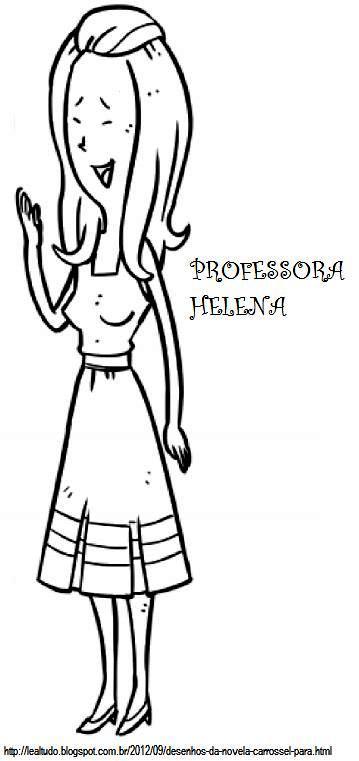 Desenhos Para Colorir Para Professora
