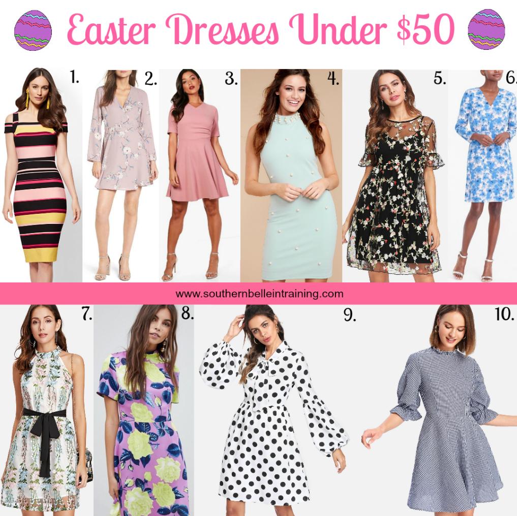 Easter Spring Dresses under $50