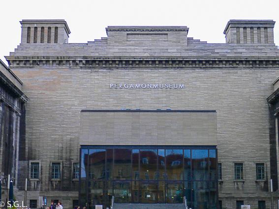 Museo de Pérgamo. Isla de los museos de Berlin