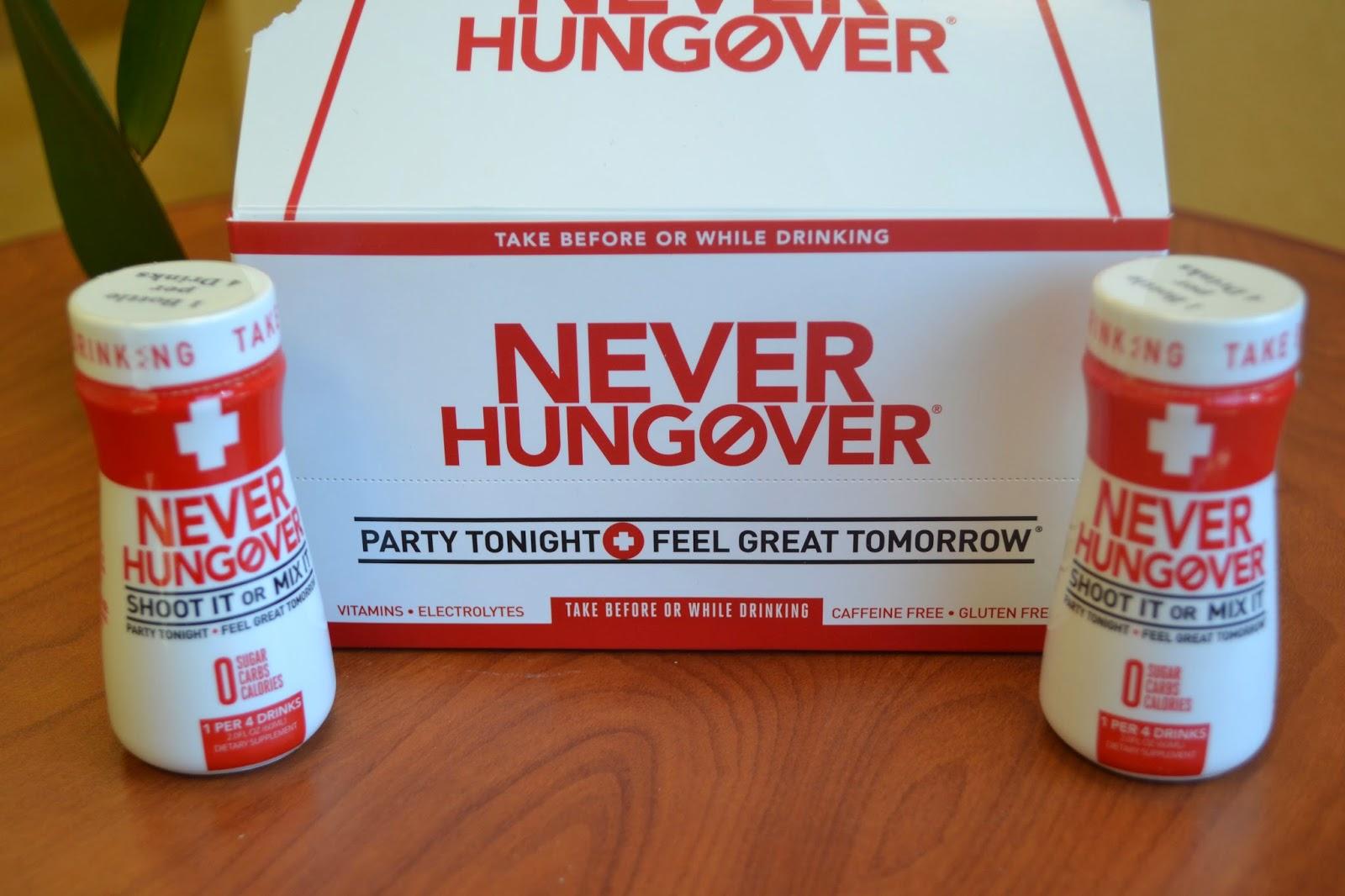Coupon Savvy Sarah: Never Hungover Product Review
