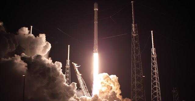 Falcon 9 launches with 'Zuma' on January 7. Photo Credit: Mike Deep/SpaceFlight Insider