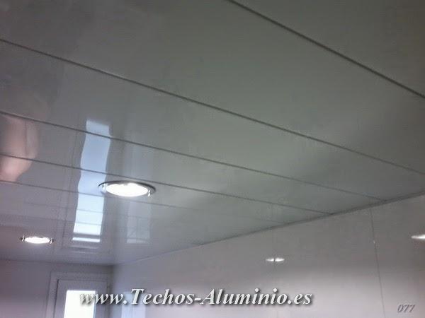 Techos de aluminio empresa falsos techos de aluminio for Precio falso techo desmontable